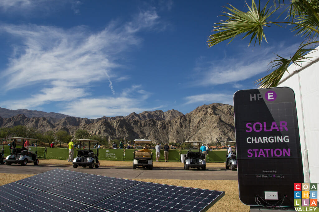 Humana Challenge 15' Getting Charged up for Thursday's 1st Round. Photo by Jim Civello/CoachellaValley.com