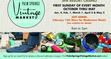 Palm Springs Vintage Market this Sunday