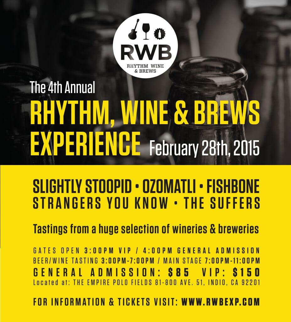 Rhythm, Wine & Brew Experience