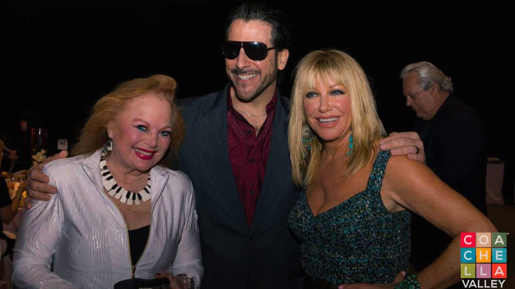 Songwriter Carol Connors, Suzzane Summers and Artist Nicolosi