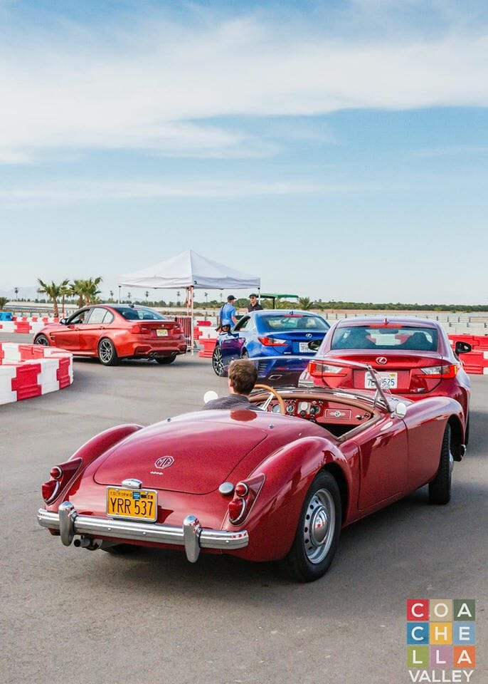 Petersen Invitational at the Thermal Club. Participants brought their own cars to race on Autocross Course.