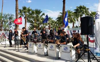 Mark Schulman Clinic and Concert with Coachella Valley's Heatwave Jazz & Show Band