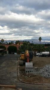 Demolition at the Las Palmas Shopping Center