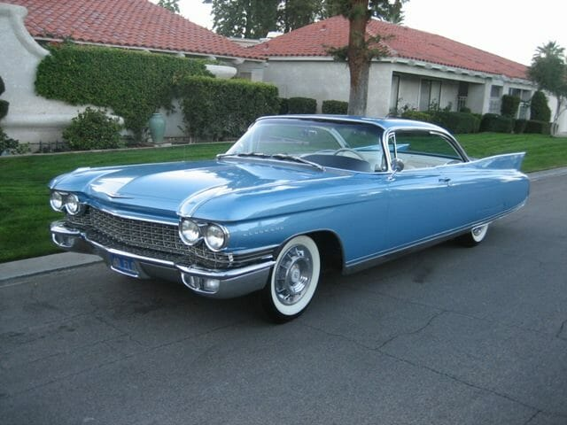 1960 Cadillac Eldorado Coupe apart of the 58th McCormick Auction in February. Courtesy McCorkmick's