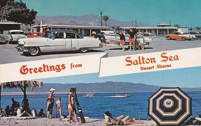 Vintage Salton Sea in its Hayday!!