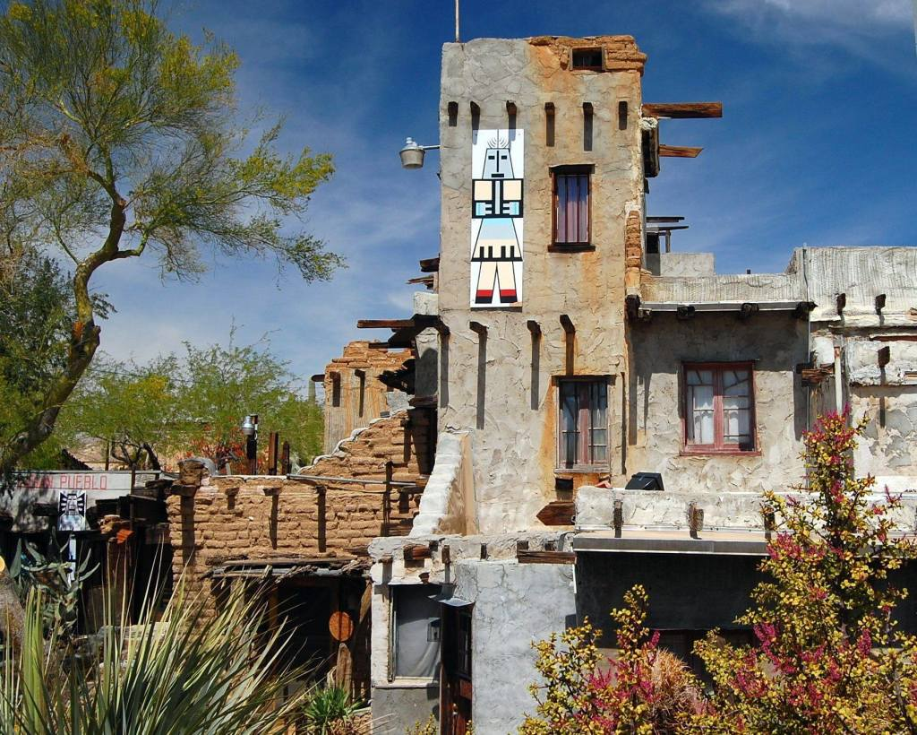 Cabot's Pueblo Museum by Jeanine Black