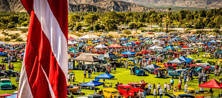 Coachella Valley's Longest Running Car Show, 17th Annual Dr. George Car Show, now one of California's largest