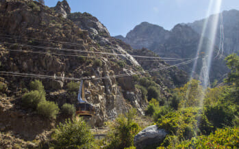 Palm Springs Aerial Tramway is #1 on the list of 10 Most Stunning Aerial Lifts