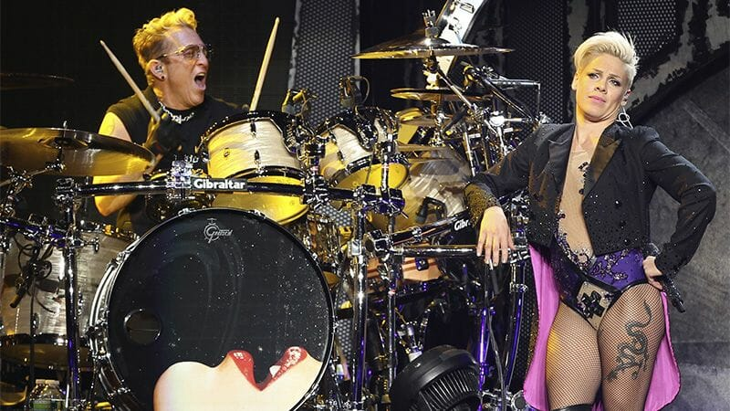 Mark Schulman and Pink