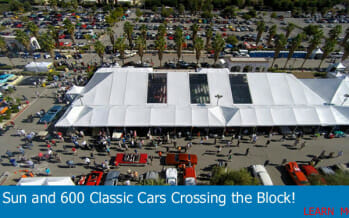 Frank Sinatra's Limo sells at the McCormick's Palm Springs Collector Car Auction this weekend!