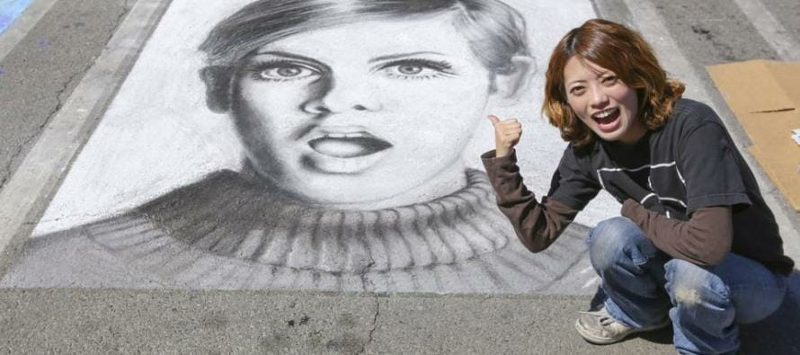 Coachella Valley's 5th Annual Palm Springs Chalk Festival