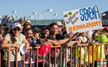 Fears, Cheers, and Tears, Serena Williams Returns to BNP, Indian Wells, California