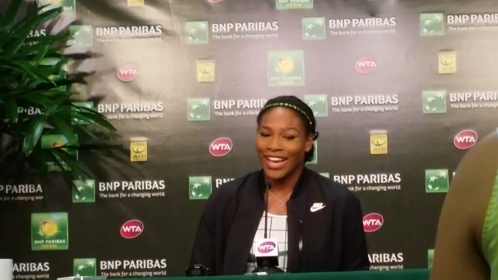 Serena Williams returns to Indian Wells after 14-years by CoachellaValley.com