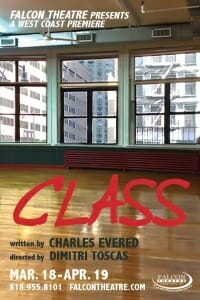 Class the Play ar rge Falcon Theatre March 18- April 19, 2015