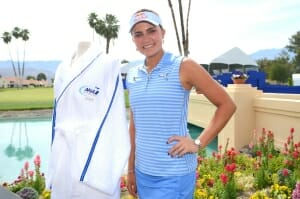 Defending Champion Lexi Thompson by Poppies Pond - New Robe