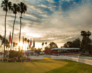 Morning at the ANA Inspiration