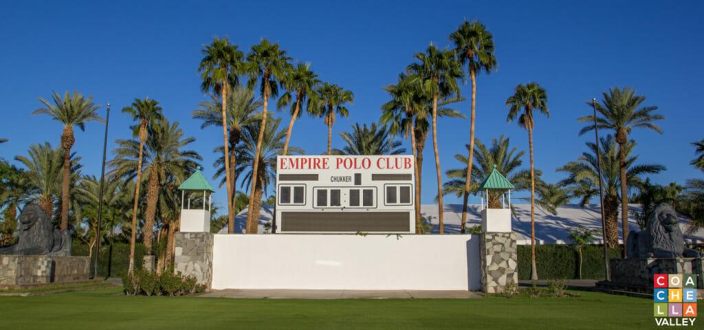 Empire Polo Club Score Board by Coachella Valley