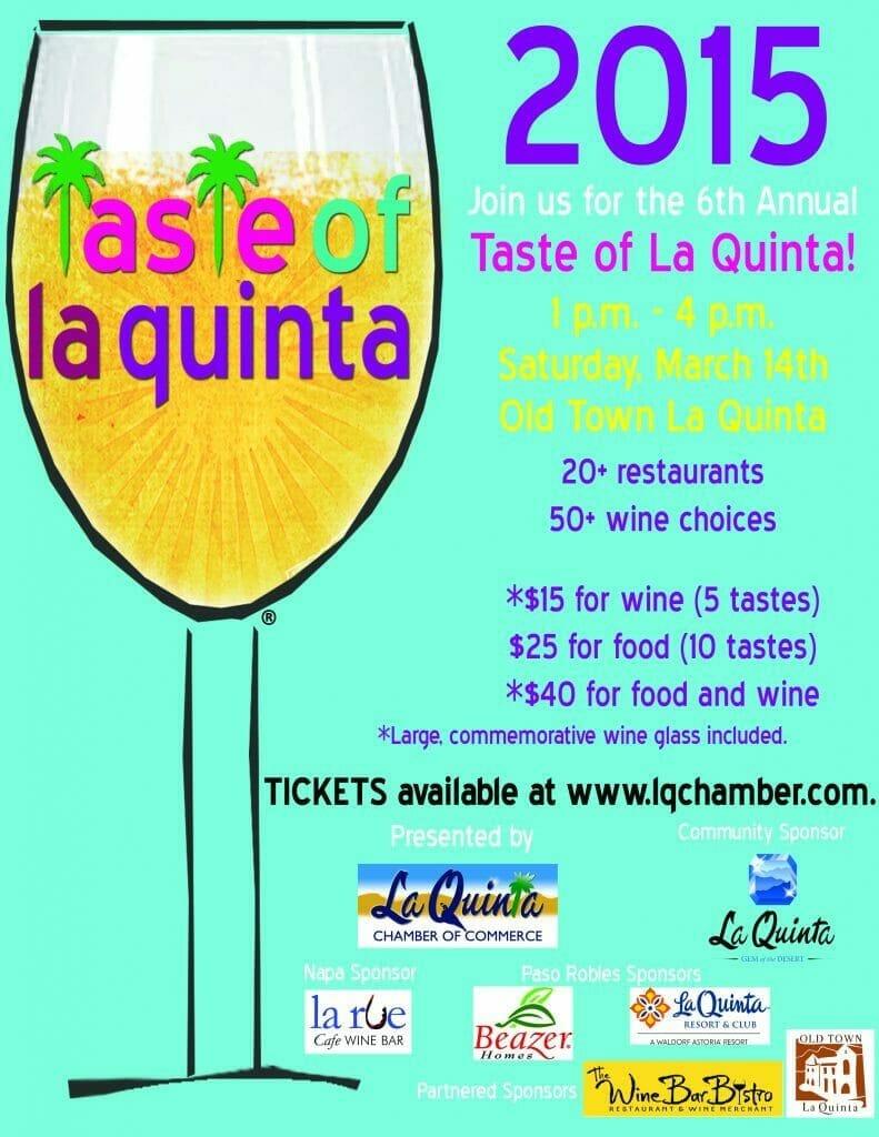 Taste of La Quinta 2015