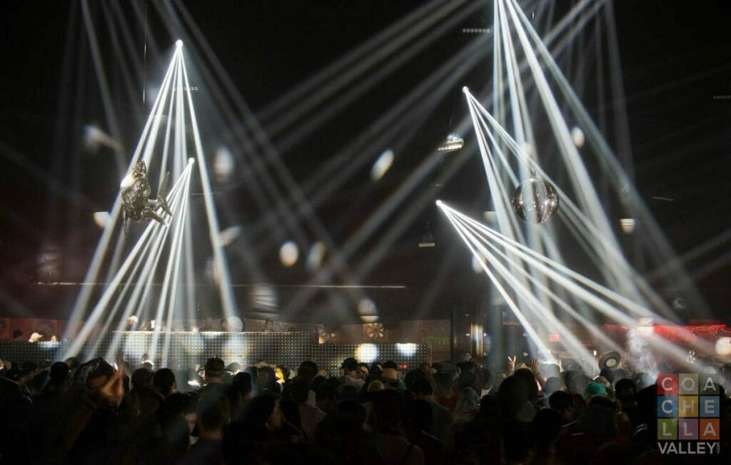 Yuma Tent after dark...euphoric. by Christopher Wayne Allwine/CoachellaValley.com