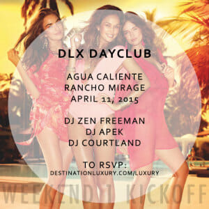 2 VIP Ticket GiveAway by DLX DayClub