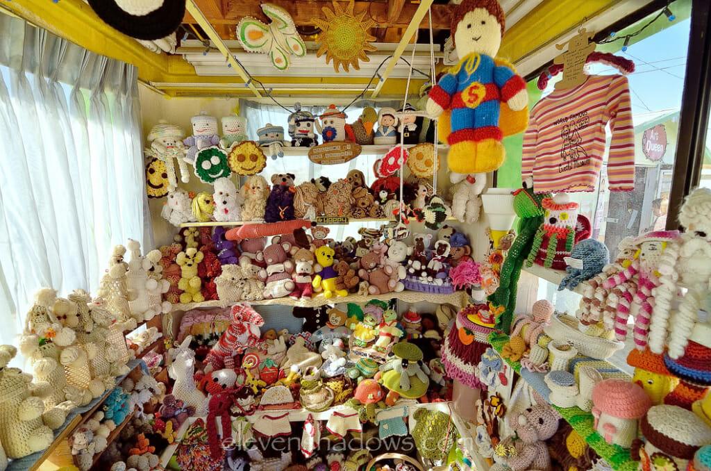 Crochet Museum in Joshua Tree.