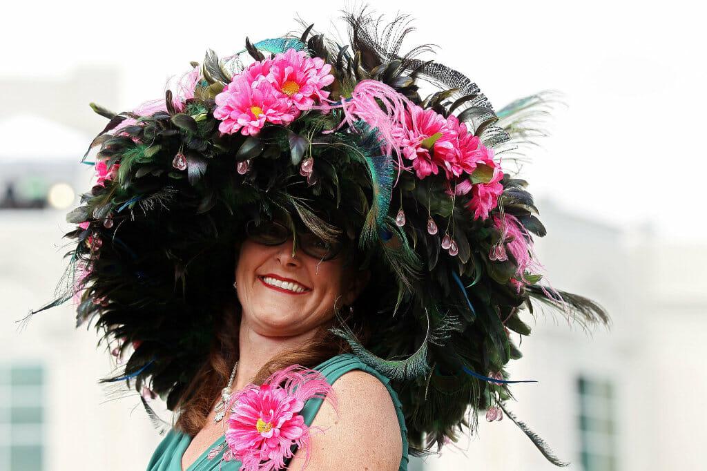 Wear your most fabulous hat!