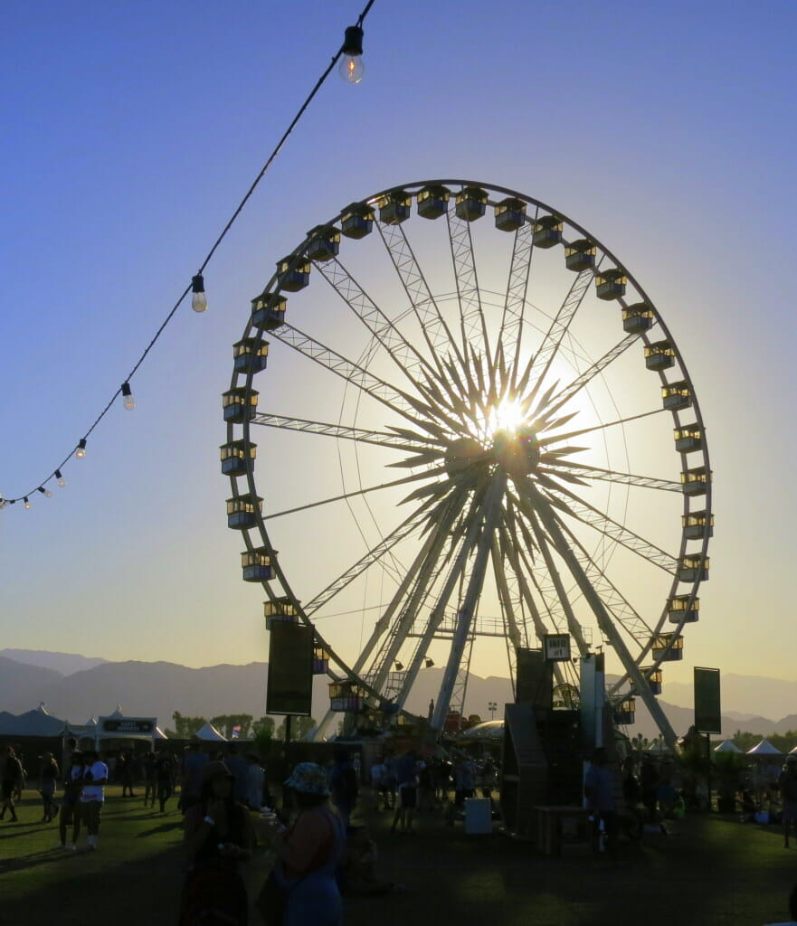Coachella Ferris Wheel by Kat Ballard