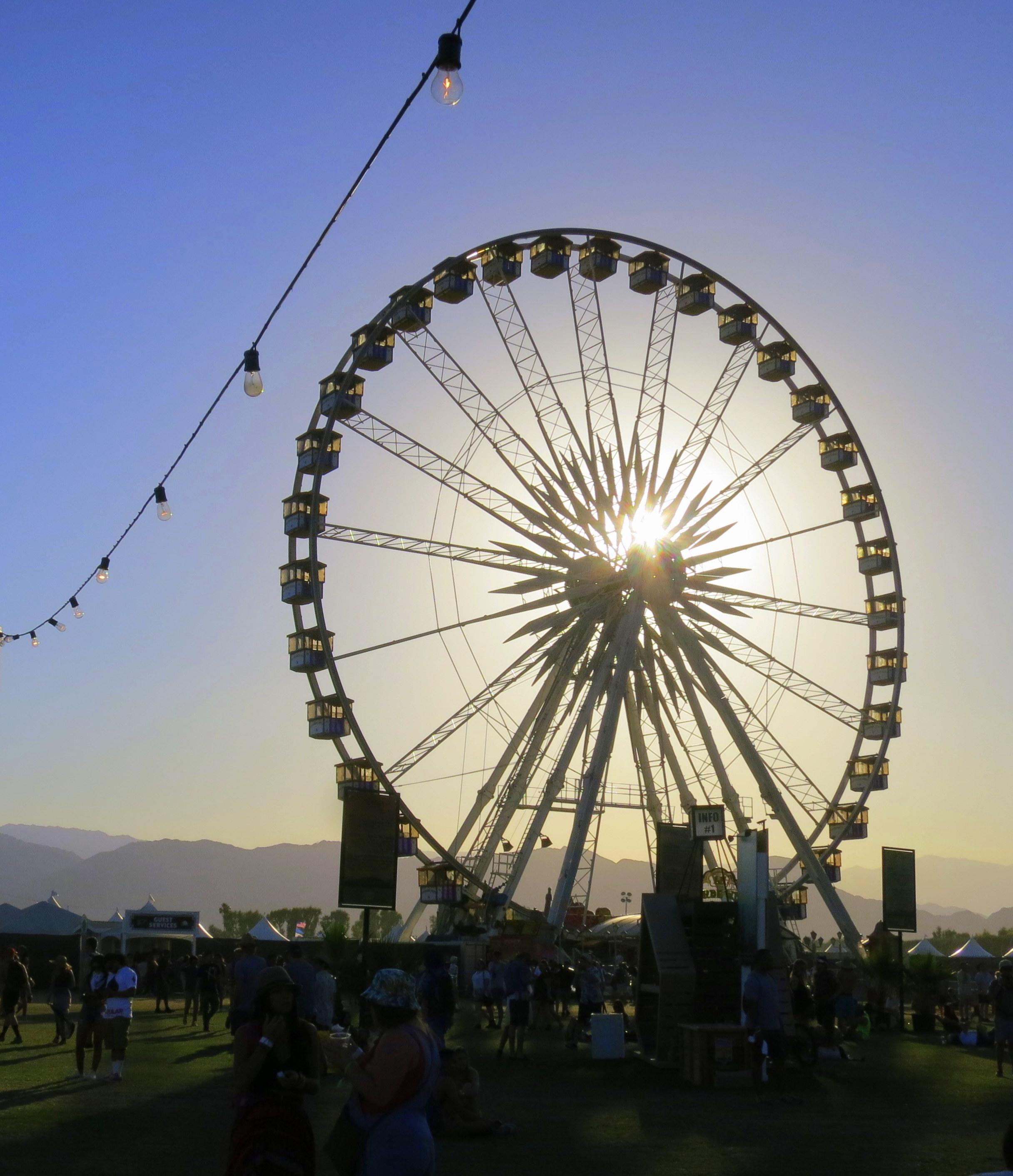 Did You Know Coachella S Beautiful Ferris Wheel Coachella Valley