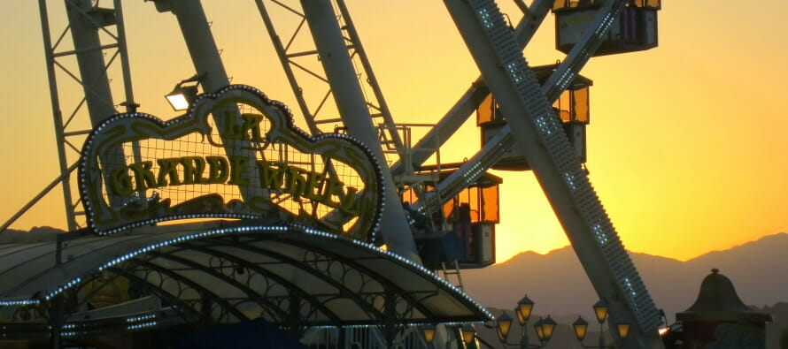 Did You Know Coachella's Beautiful Ferris Wheel…