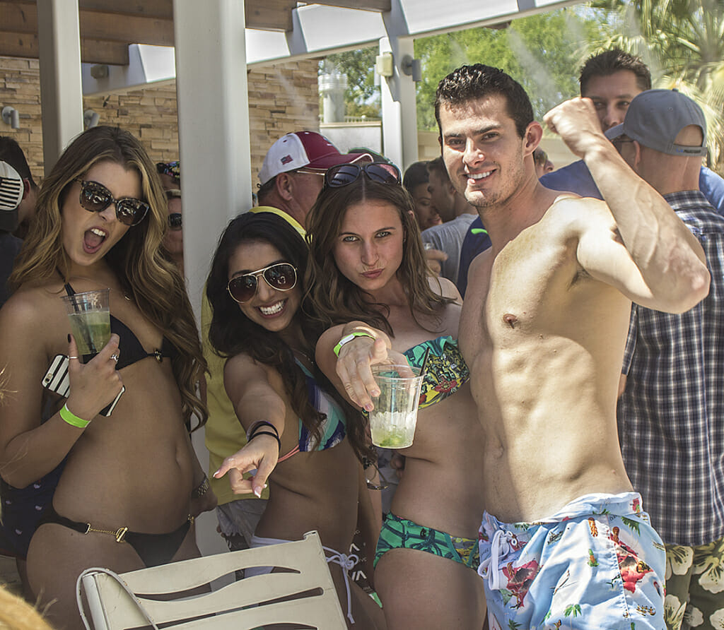 DLX Dayclub hosted scene-sters at one of the hottest parties in the desert!