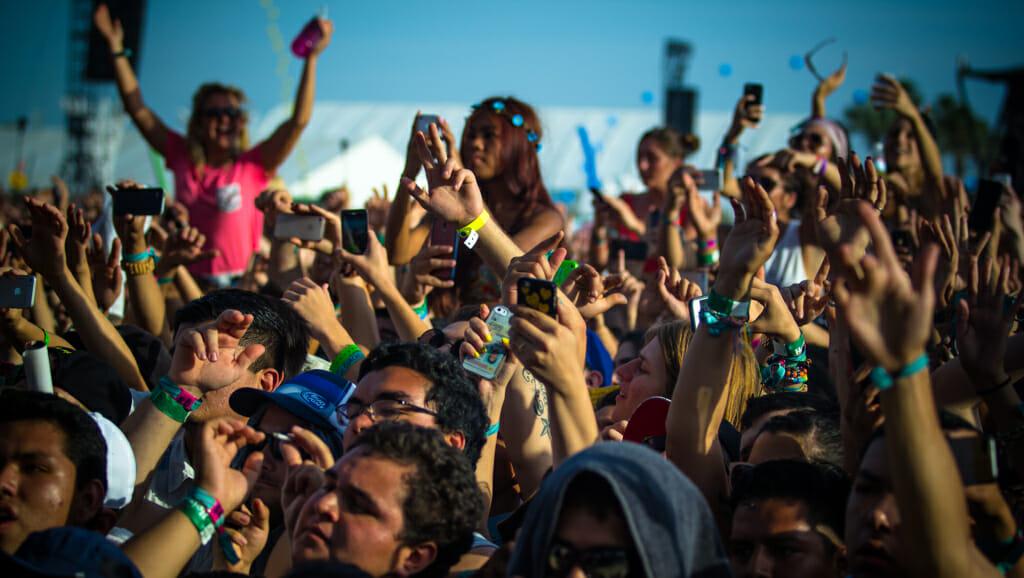 How many people go to Coachella?