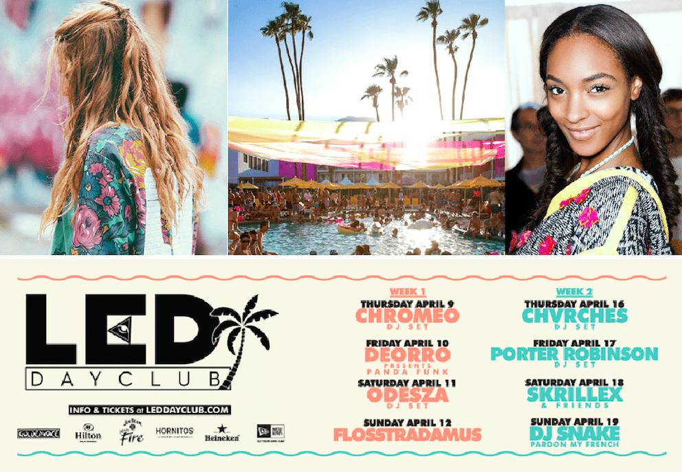 LED DayClub will have a  braid and styling bar!