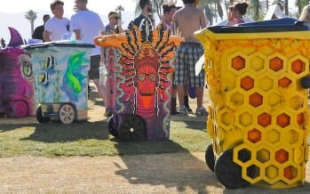 Get TRASHED at Coachella!