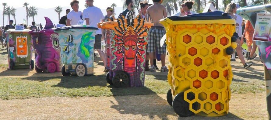 Get TRASHED at Coachella!