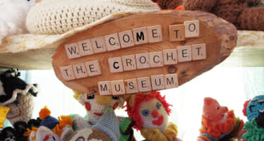 Did you know we have a Crochet Museum in Joshua Tree?