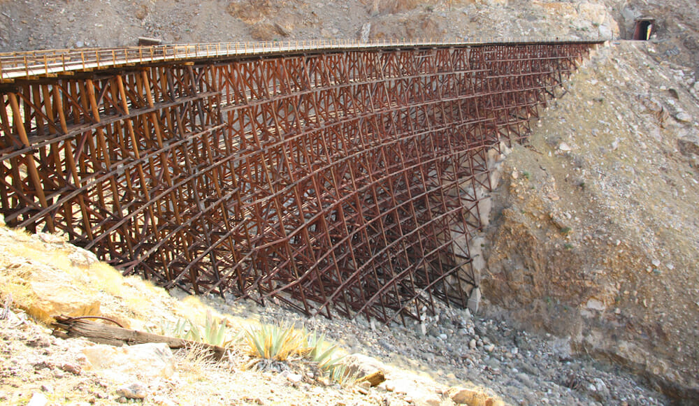 View of the Goat Canyon trestle