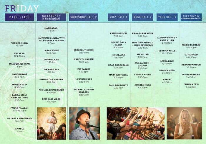 Shakti Fest Friday