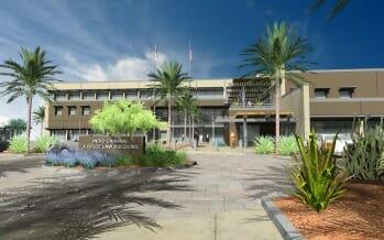 Indio's, Riverside County Law Building, Earns Environmental Design Honor
