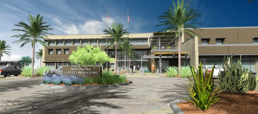 Indio's, Riverside County Law Building, Earns Environmental Design Honor