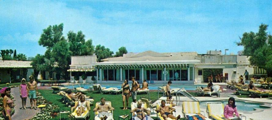 Did you know the Colony Palms Hotel was once owned by a member of the Purple Gang?