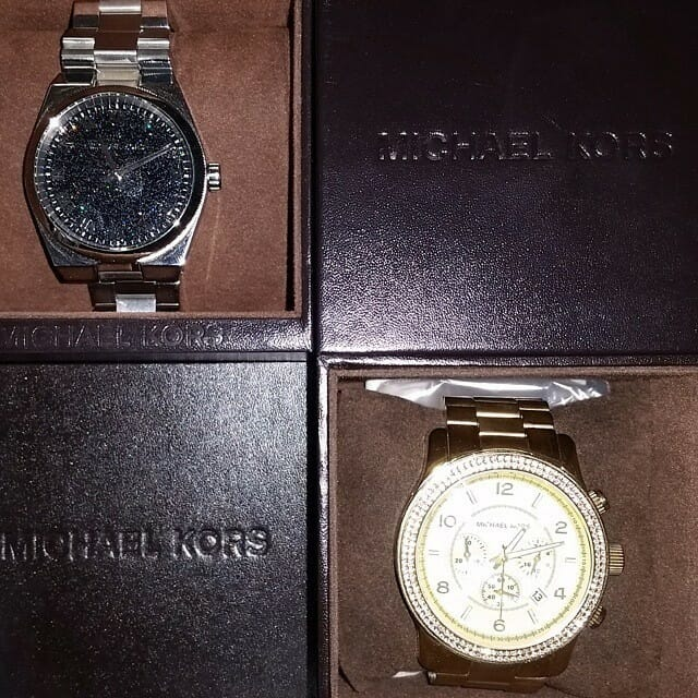 Check out these Michael Kors watches just in! Only $75 and $150! Hurry in today before they're gone.