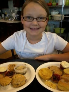 Claire and her Desserts! Cooking with Class Kids Summer Camp