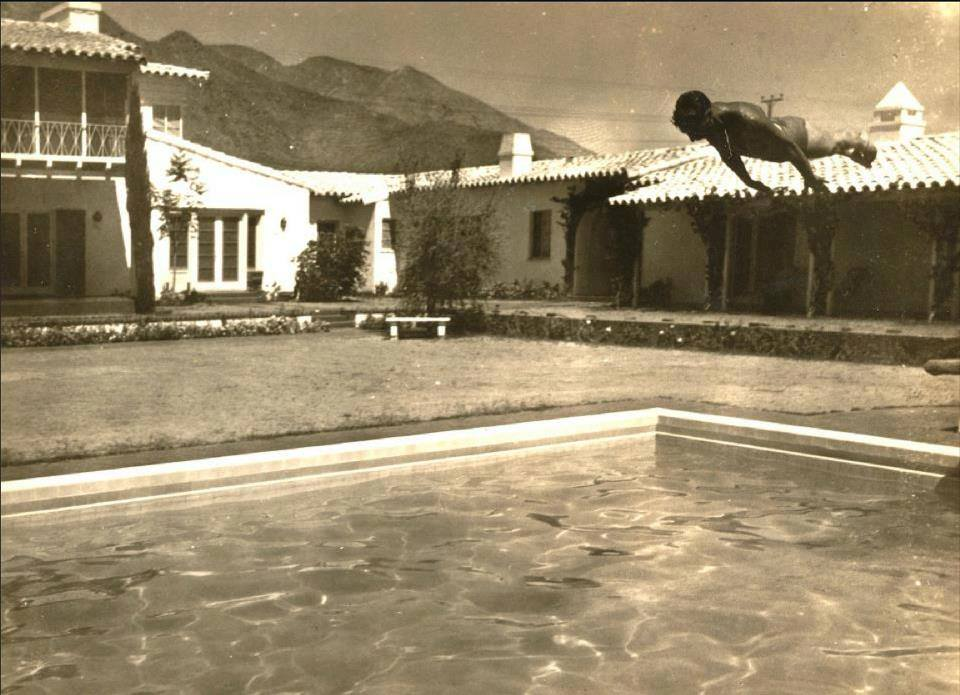 Did you know The Colony Palms Hotel was originally built as the Colonial House by Las Vegas casino owner and Purple Gang member Al Wertheimer