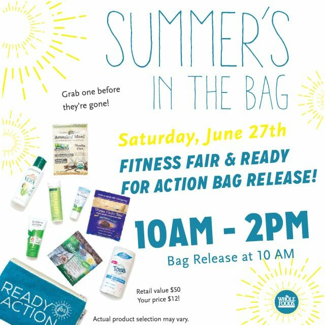 From June 24 to 30, stores kick off summer adventures with a fitness fair