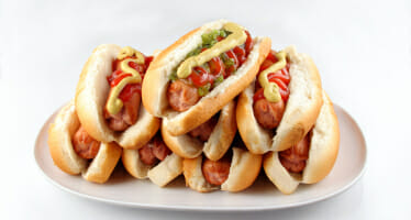 HOT DOG EATING CHAMPIONSHIP at AUGUSTINE CASINO