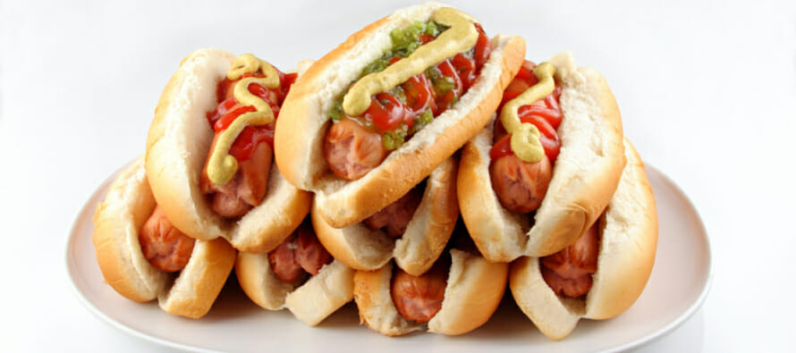 HOT DOG EATING CHAMPIONSHIP at AUGUSTINE CASINO