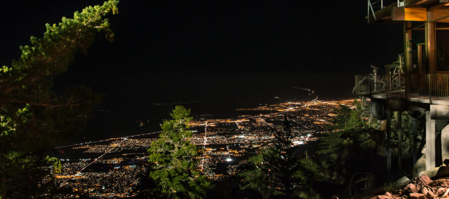 Thanksgiving weekend at the Palm Springs Aerial Tramway