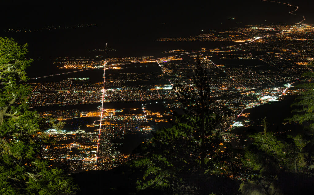 View of the Coachella Valley from the Top of the Tram.  Photo by CoachellaValley.com