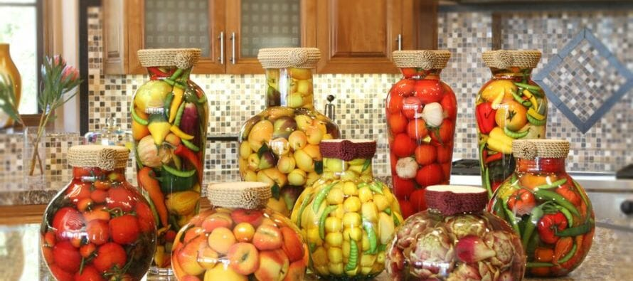 Sarabella Tuscan Jars – Enticing Fruit of the Season