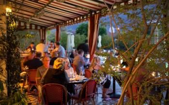 A Sunset Dinner with Domaine Serene Winery at Colony Palms Hotel